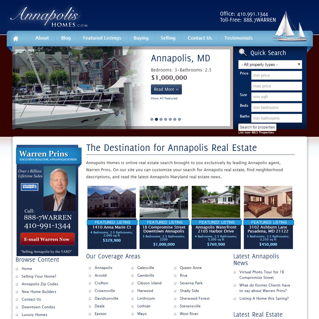 Annapolis Homes