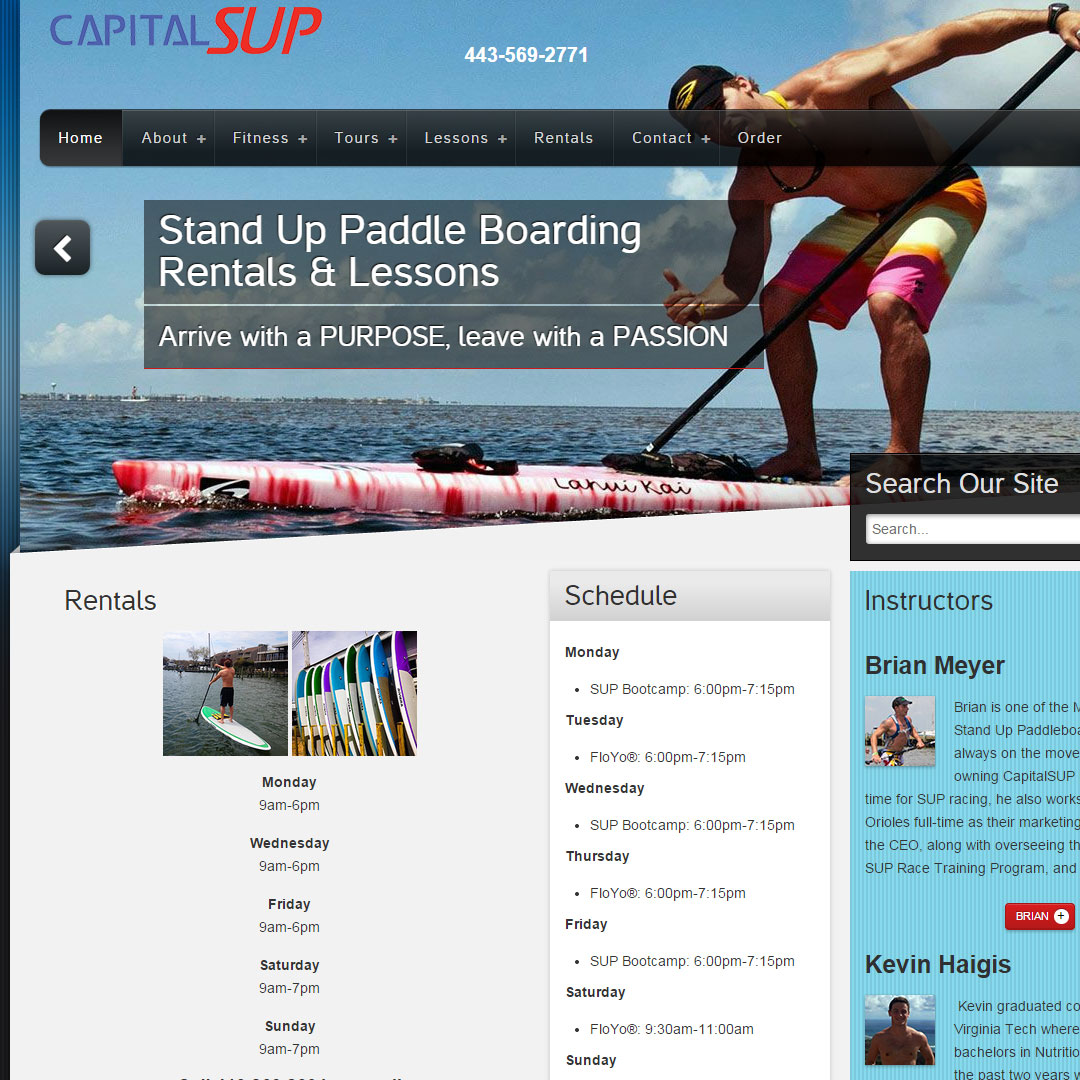 Capital Stand Up Paddleboarding