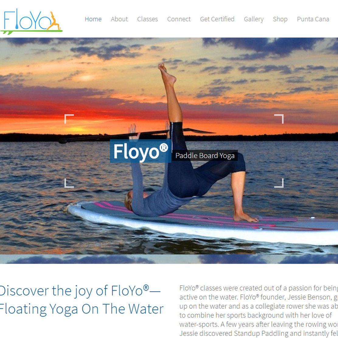 FloYo® Fitness Yoga Website